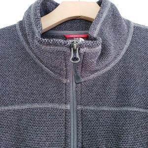The North Face Jackets & Coats - NORTH FACE Full Zip Mock Neck Jacket Waffle Knit